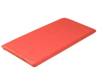 """54""""X108"""" Coral Tissue Rectangle Table Cover, table cover, tableware, party supplies, wedding supplies, birthday party, baby shower"""