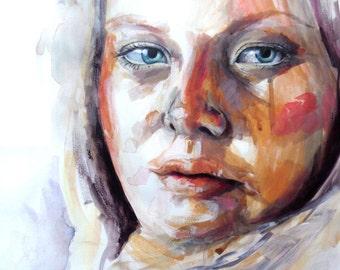 Portrait Painting - Acrylic Paint