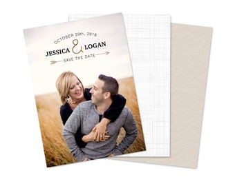 Standard Save the Date Card (25 pack)