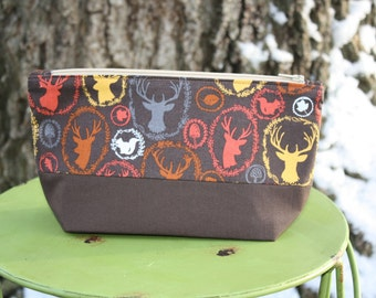 Woodland Creatures Makeup Bag