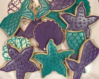 Mermaid cookies!
