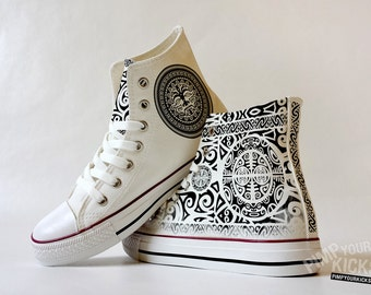 Maori Custom Made Shoes