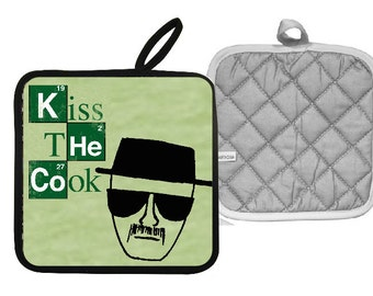 Breaking Bad Kiss the Cook Pot Holder