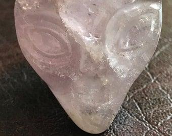 Amethyst ET Crystal Skull