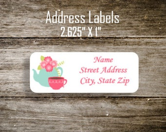 Return Address Labels Stickers