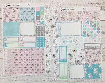 Meow - Mini Happy Planner Weekly Kit