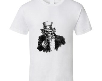 Uncle Skull T Shirt