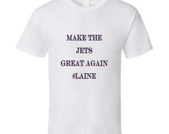 Make The Jets Great Again #laine Tshirt (all Styles And Colors Available)