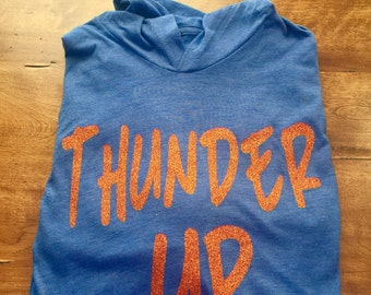 Womens OKC Thunder hooded Tee