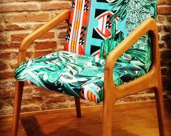 Stella Chair fabric Papagayo from Pierre frey