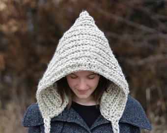 Spring SALE!!!! // Hooded Hat // Crochet Winter Hood // Chunky Hood // Ready To Ship