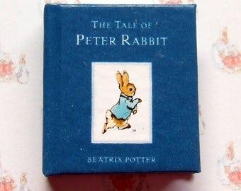 Dollshouse miniature book - Peter Rabbit