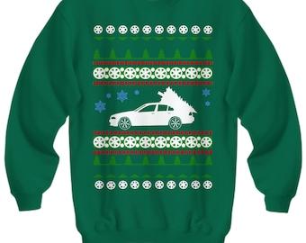 BMW 530 Ugly Christmas Sweater Sweatshirt and Hoodie Holidays
