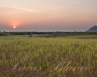 Sunshine photograph, Anantapur, India