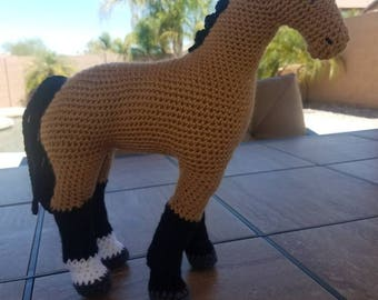 Customized Horse Stuffed Animal