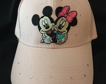 Mickey and Minnie Disney Character Hat