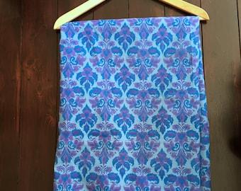 1970's Printed Nylon Fabric, Eastern Exotica !!!