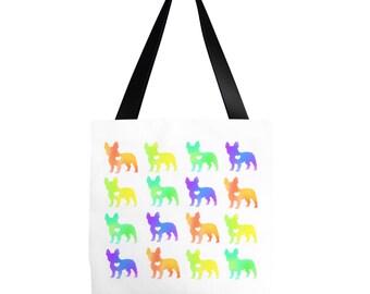 French Bulldog Tote bag - French Bulldog Gifts - Frenchie Tote Bag - Frenchie Gifts - French Bulldog Bag