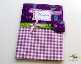 """Nut case """"Purple of squares"""" by frollein cosa"""