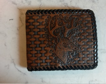 Deer Bi-Fold Wallet