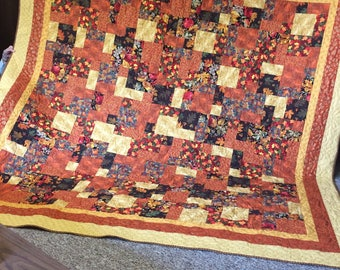 Fall Colors King Size Quilt