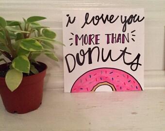 Donut Notecard