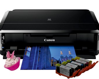 Home Media edible Canon A4 printer package IP7250