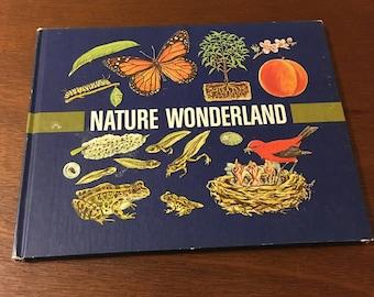 "1970 ""nature wonderland"" book by bertha morris parker"