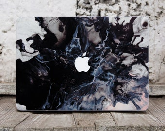 Black Marble Macbook Pro Sticker Marble Macbook Case Laptop Sticker Laptop Skin Macbook Air 11 Skin Marble Macbook Pro Skin Mac Cover 075