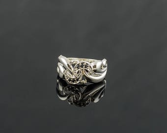 Ring Sterling Silver Handcrafted Jewelry Weight 3,28g