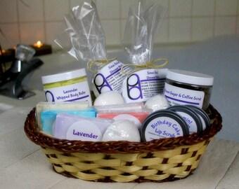 Gift Basket, Large Gifts Spa Set