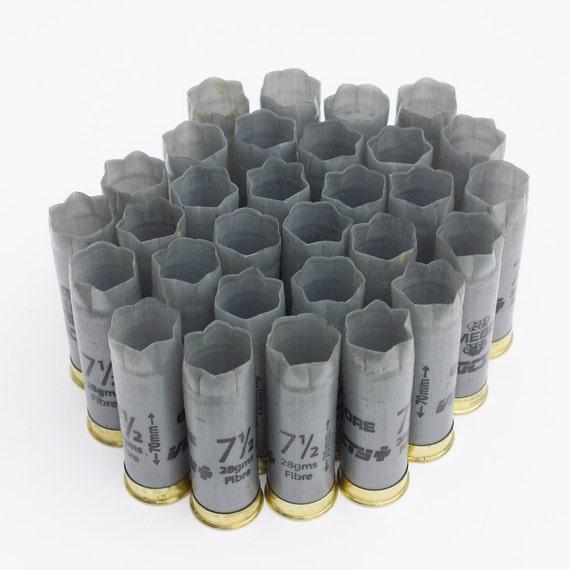 20 x Spent / empty shotgun shells / grey cartridges Gamebore
