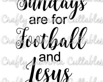 Sundays are for football and Jesus SVG file / Football and Jesus SVG / Sundays SVG // Coffee before talkie svg / football and Jesus cuttable
