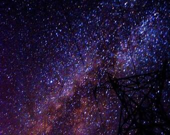 Milky Way Vibes - Metal Photo Print
