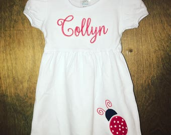 Monogrammed or Appliqued Dress