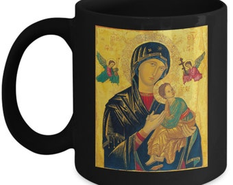 Virgin Mary Coffee Mug. Mother Mary. Mother of Jesus. Give as a gift for any occasion!