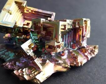 154 Gram Bismuth Crystal Cluster
