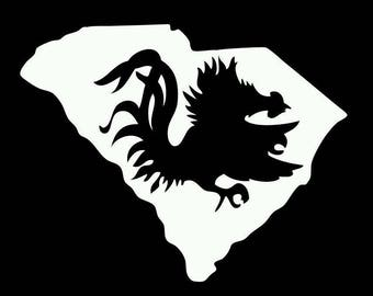South Carolina gamecock usc decal sticker