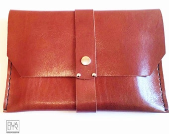 Leather IPAD CASE (pouch tablet)!