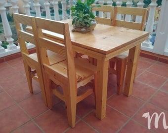 Rustic dining table - Luján