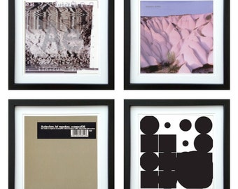 Autechre - Framed Album Art - Set of 4 Images