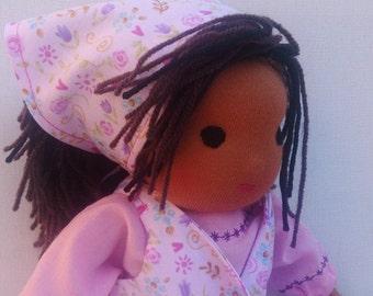 Alice - handmade Waldorf rag doll