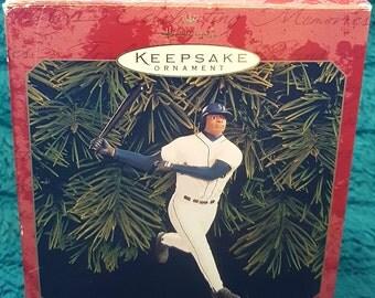 Ken Griffey Jr Christmas Ornament