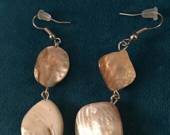 Beachy shell earrings