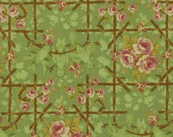 Cotton Fabric Quilting Roses
