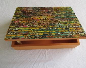 Decoupage box /Jewelry Box /Jewelry Organizer /Storage