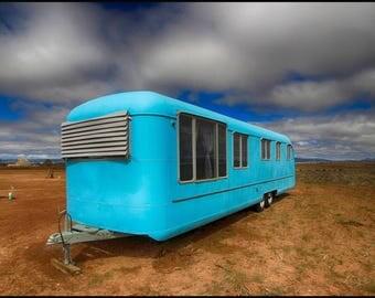 Retro in Blue, El Prado,NM