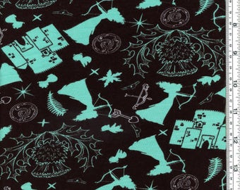 Archer Princess Merida Rayon Spandex Fabric