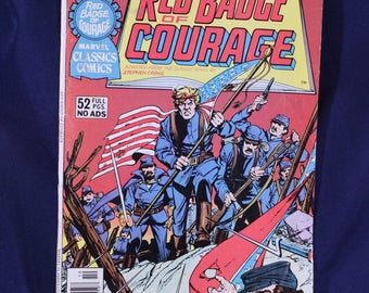 Red Badge of Courage no. 10 Marvel Classics Comics 1950's vintage comic book