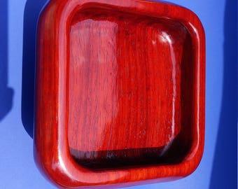 Square Paduak Bowl